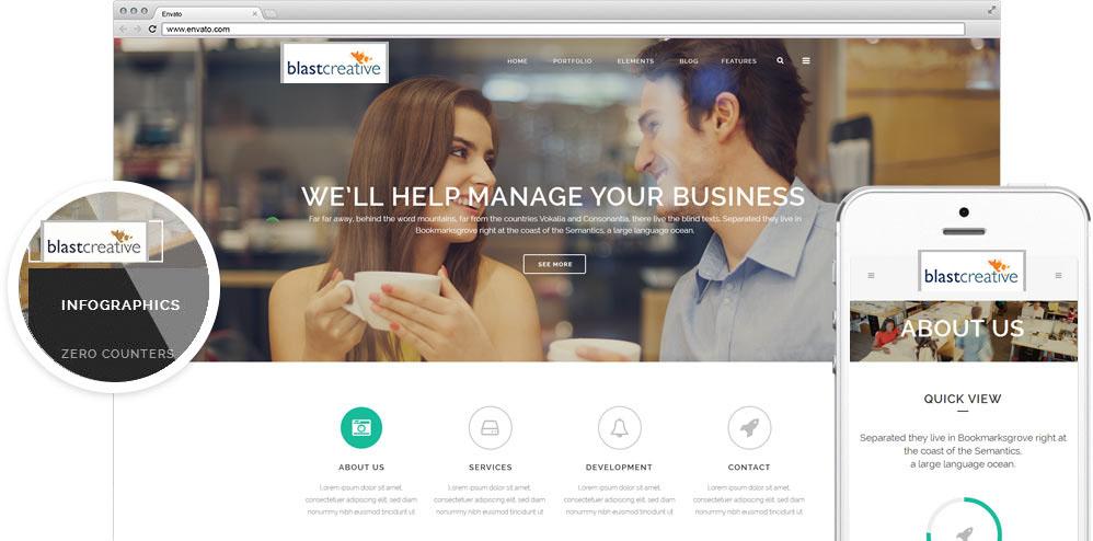 Blast Creative Website Design | SEO Services | Social Media